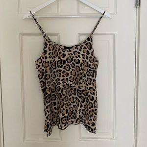 ATM cheetah print tank / cami